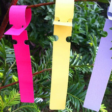 Garden Musthave 200pcs Plastic Durable Plant Hanging Tags Waterproof UV resistant Nursery Gardening Labels