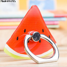 mobile phone holder Fruit series watermelon acrylic cartoon ring bracket ring holder mobile phone accessories