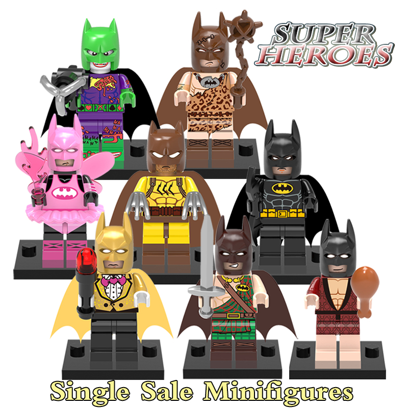 Minifigures Catman Fairy Tartan Pajamas Joker Dress The Batman Super Hero Building Blocks Education Toys For Kids Children X0147<br><br>Aliexpress