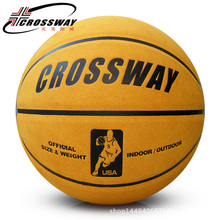 High Quality Basketball Balls Official Size 7 Genuine Leather soft hair Professional Training Outdoor Indoor Ball With Needle