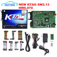 Super ECU Programming KTAG Master Version V2.13 HW 6.070 No Tokens Limited  K-TAG ECU Chip Tuing K TAG Supports BDM Function