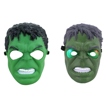 2016 New 1 PCS Hulk Mask Plastic Masks Cosplay Full Face Halloween Birthday Barty Festival Party Masquerade Mask