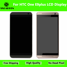 SXGARDEN  For HTC Original One E9plus E9+ LCD Display With Touch Screen Digitizer Assembly Replacement Parts with frame e9plus