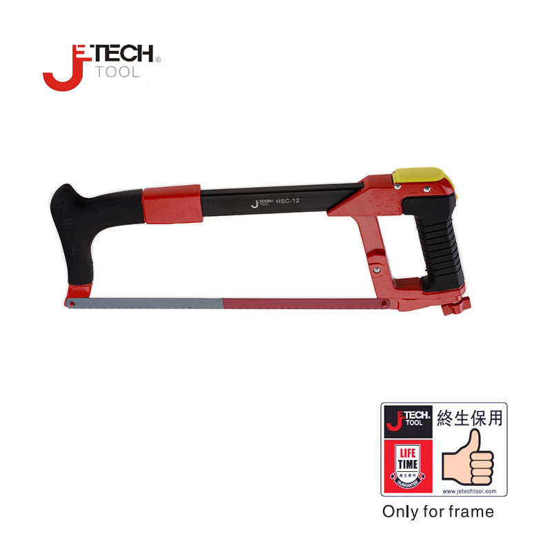 Jetech aluminum alloy hacksaw frame with blade  high quality multifunction woodworking tools 39.5cm*16cm<br><br>Aliexpress