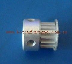 T2.5 Aluminum belt pulley and PU T2.5 open belt 6.35mm 20 teeth<br>