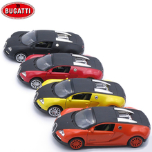 1/32 Scale Bugatti Veryon Diecast Model Car, 14Cm Kids Alloy Toys, Metal Cars With Openable Doors/Pull Back Function/Music(China)