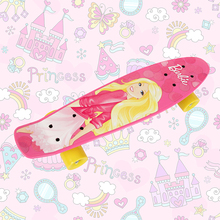 Barbie skateboards Complete Retro elektroscooter Mini Longboard Skate Fish Skateboard light alloy wheels 4 wheel shape skates
