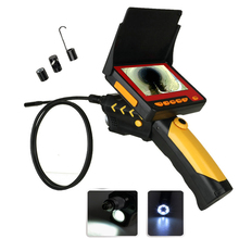 "4.3"" LCD Video Digital Inspection Camera 3M Cable 8.2MM Borescope Endoscope Zoom Rotate"