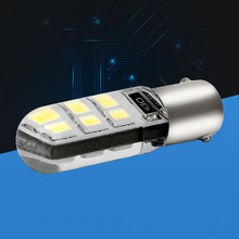 1PCS NEW BA9S 233 T4W T11 6 smd 2835 led Silica gel Waterproof Light Car marker light reading dome Lamp Auto parking bulbs 12V