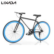 Lixada 700C Carbon Steel Bicycle High-configuration Cycling Road Bike Single Speed Bike Fixed Gear Bicycle Bicicleta