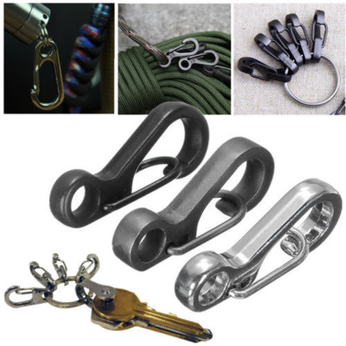 DIAMOEN Keychain Clip D Ring Clasps Gear for Backpack Camping Rope