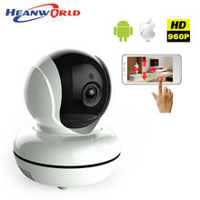 960P mini WIFI IP Camera wireless CCTV video Camera Baby Monitor Night Vision Audio Pan/Tilt SD Card Surveillance Network IP cam