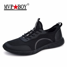Brand Men Casual Shoes 2017 New Two Styles Fashion Mesh Breathable Men Summer Shoes Super Light Male Footwear Big Size 35-48(China)