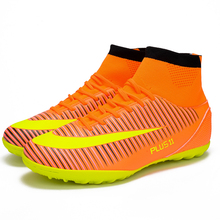 Brand New Men's DMX Football Boots 2017 Breathable Soccer Shoes Men Football Sneakers Soccer Boots Outdoor Training Shoes WDA163(China)
