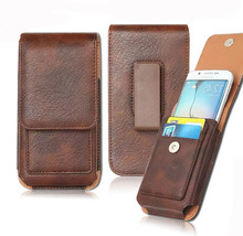 New Waist Wallet Mobile Phone PU Leather Case Pouch Holster Bag+Card Slots For Huawei P10 Plus/ P10 Lite/P8 Lite 2017/GR5/Mate 9
