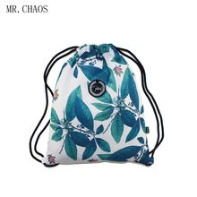 Drawstring Backpack Women students Sports Gym Bag Outdoor Training Fitness Bag cool Fresh college style(China)