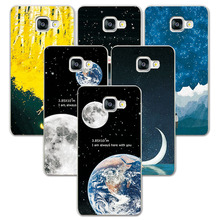 Couple Phone Case FOR Samsung Galaxy S3 S4 S5 Mini A3 A5 J5 2015 2016 Space Stars a310 / a510 j510 Back Cover - Mall of for Smart store