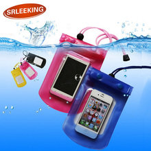 SRLEEKKING Swimming camping Mobile Tourism waterproof case bag cell phone cover Pouch Dirt Proof Plastic for iphone 5s/6s/7plus(China)