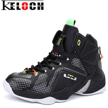 Keloch 2017 New Men Basketball Shoes Breathable Athletic High Ankle Basketball Sport boots For Men Outdoor Waterproof Sneakers