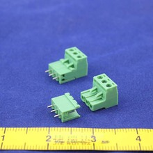 Free shipping 10 sets ht5.08 3pin  Terminal plug type 300V 10A 5.08mm pitch connector pcb screw terminal block