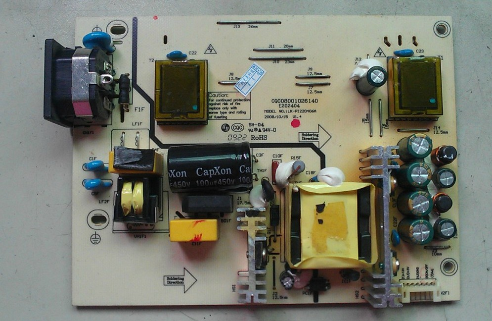Free Shipping&gt;BSFL 2242-70A power board BSFL 1942-71A 9 into a new E229910-Original 100% Tested Working<br>
