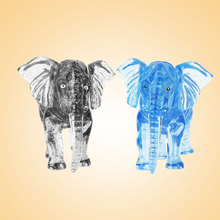 3D Crystal Puzzle Elephant Games Designer Creative Kids Intellectual Development(China)