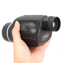 Hunting 13x50 Big Vision Monocular Powerful Handheld Telescope Eyepiece Spotting Scope Sport Watch +Cellphone Adapter