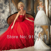 Embroidery Lace Overlays Organza New Wedding Dress 2013 Product Ball Gown Sweetheart Applique Crystal Sequin Long