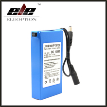 6800mAh 12V 500 Times Rechargeable Battery DC12680 rechargeable batteries CELL/RC Bateria For wireless transmitters CCTV camera