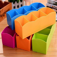 CB199 new Candy Color Plastic Multi-functional Desktop Box Four Drawer Storage Box