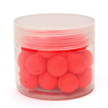 30pcs/Box Smell Pop Ups Carp Fishing Bait Boilies Flavors 12mm Floating ball beads feeder Artificial Carp baits lure/ hair rig