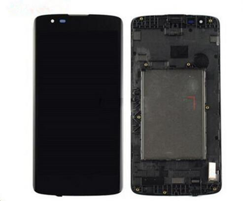 For Lg K8 K350N K350E K350DS K350 LTE 4G Lcd Display+Touch Glass Digitizer Frame Assembly Black/White color free shipping<br>