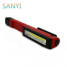 Portable PVC LED Flashlight Lantern Emergency Camping Light 1 Modes 3*AAA Waterproof Mini Torch Lamp