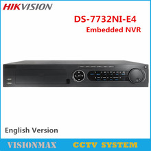 Buy Hikvision 32CH NVR DS-7732NI-E4 HD 6MP Onvif 4SATA HDD 6TB Network Video Recorder CCTV System IP camera for $420.60 in AliExpress store