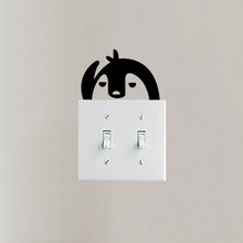 Switch Stickers Fashion Living Room Bedroom Decor Wall Decal 3SS0029(China)