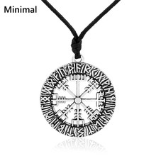 Minimal Ancient Punk Hollow Religious Mens Vintage Pendant & Necklace Supernatural Pendant Talisman Wicca Jewelry Accessories(China)