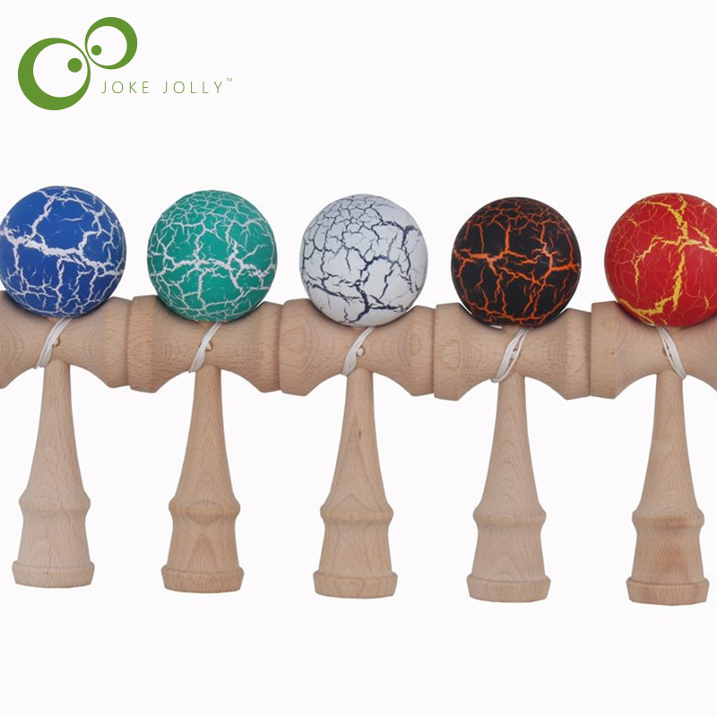 Kid Funny Kendama Skill Ball Japanese Traditional Sword Ball Wood Game Ball Educational Toy Gifts S24(China (Mainland))