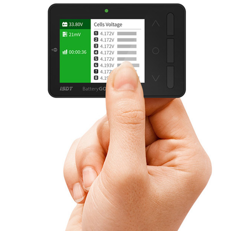 ISDT BG-8S Smart Battery Checker Balancer Receiver Signal Tester Quick Charge Function<br>