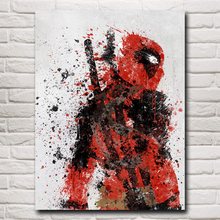 Deadpool Wade Wilson USA Superheroes Comic Movie Art Silk Poster Print Home Decor Painting 12x16 18X24 24x32 Inch Free Shipping(China)