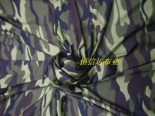silk, camouflage print fabric, military clothing, feature camouflage, fashionable dress fabric, swimming suit material