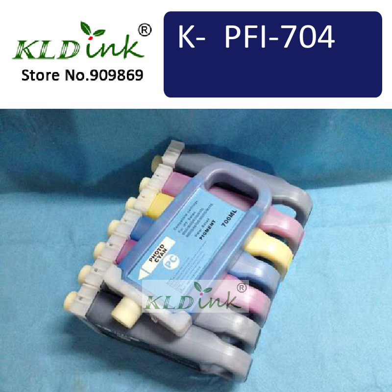 PFI-704 Cartridges for Use In ImagePrograf iPF8300, iPF9400 and iPF9400S Series (PFI-706 Set)<br><br>Aliexpress