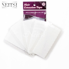 Neitsi 10sheets 120pcs Pre-cut Double Sided Tape Tabs Super Tape For Skin Weft Human Remy Tape Hair Extensions Tape No-Shine