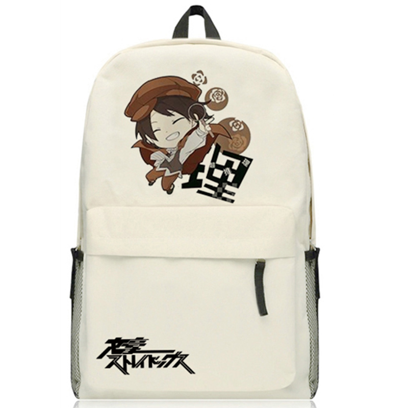 Anime Stray Dogs Cosplay Edogawa Ranpo Cos Anime male and female student school bag child birthday gift<br>