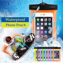 New Clear Underwater Waterproof Cell Phone Pouch For LG k7 l90 l70 nexus 5x 6p 5 Water proof Diving Mobile Dry Pocket Case Cover
