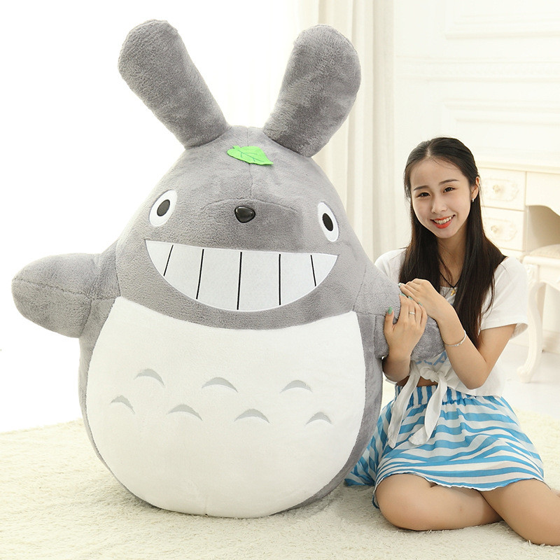 60CM Famous Cartoon Totoro Plush Toys Smiling Soft Stuffed Toys High Quality Dolls Factory Price Lovely Doll Totoro<br><br>Aliexpress