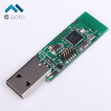 Wireless Zigbee CC2531 Sniffer Bare Board Packet Protocol Analyzer Module USB Interface Dongle Capture Packet(China)