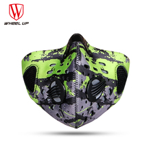 half face mask bicycle bike masks pollution dust smog PM2.5 filter bisiklet maskesi mascarilla sport skiing running cycling mask(China)