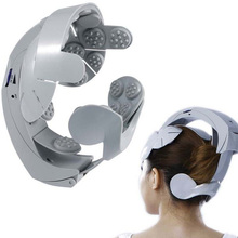 Electric Head Massager Humanized Design Healthcare Head scarf Spa Massage machine Relax Easy body Brain Head Massager