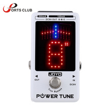 New Arrival! JOYO Electric Guitar Bass Tuner & 8 Port Multi-power Power Supplier Effect Power Tune True Bypass Top Quality(China)