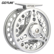 Goture ALC 3/4,5/6, 7/8 Fly Fishing Reels 2+1BB 1:1 Aluminum Alloy Die Casting Fly Reel Fishing Reel Coil with Large Arbor(China)
